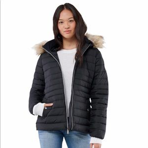 Hollister Belted Puffer Jacket Ladies Size XXS